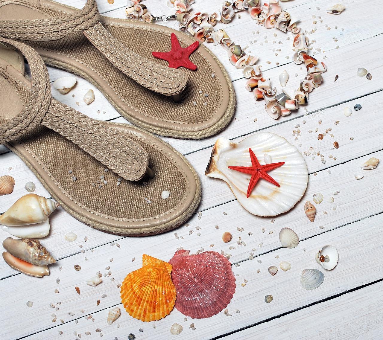 letnie sandałki